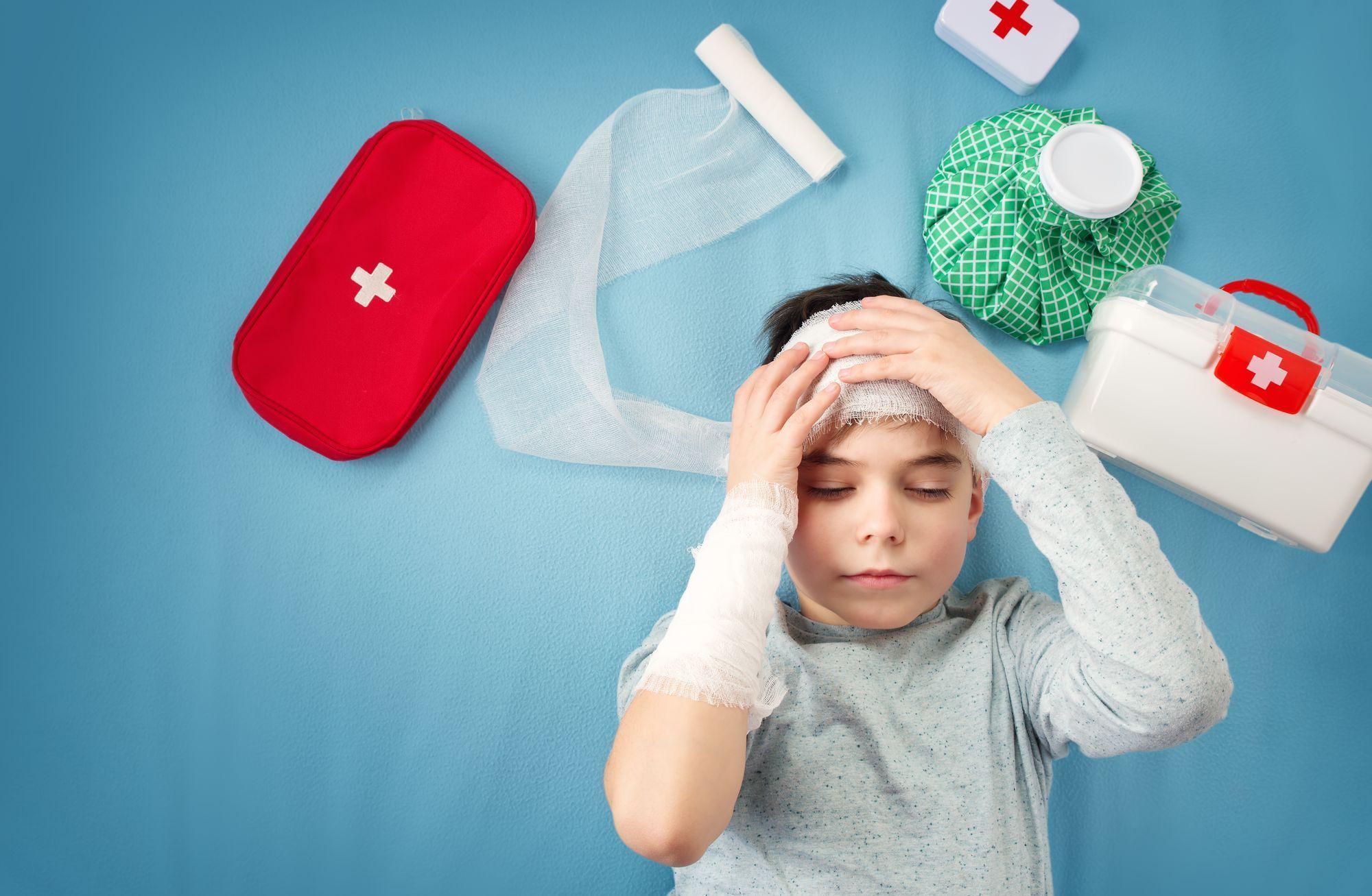 Traumatisme crânien enfant