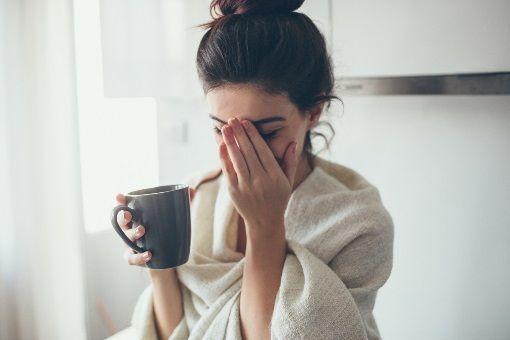Insomnie et café