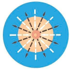 méthode radiale