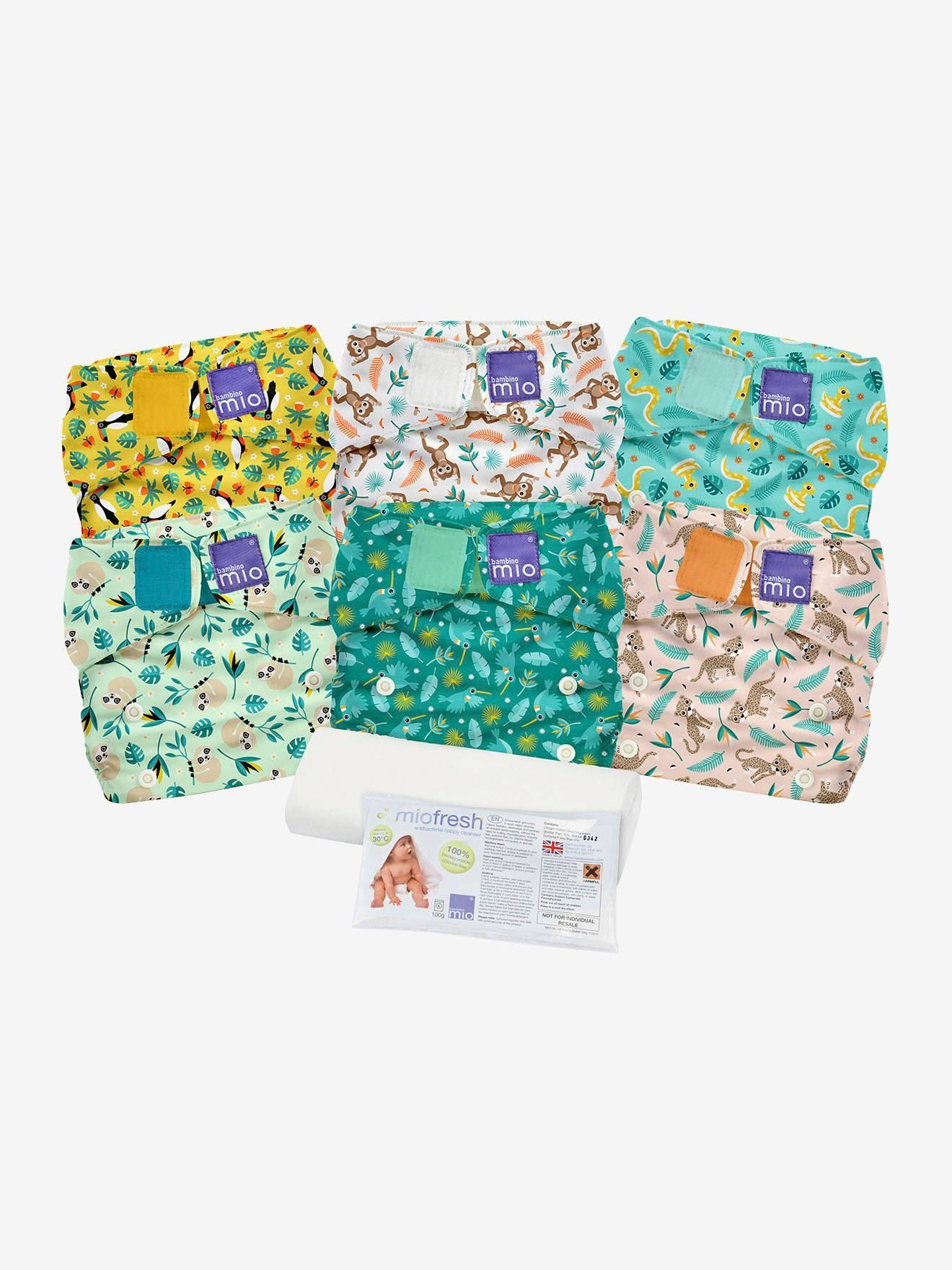 pack 6 couches lavables Bambino Mio