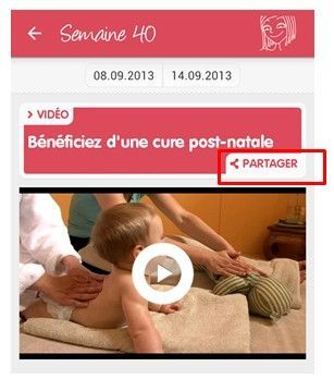 partager article