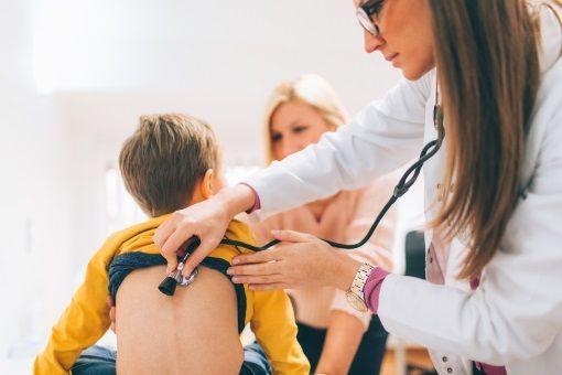 Pneumonie enfant