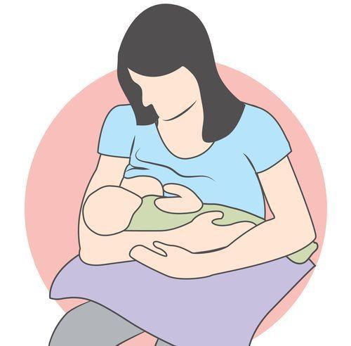 position madone - allaitement