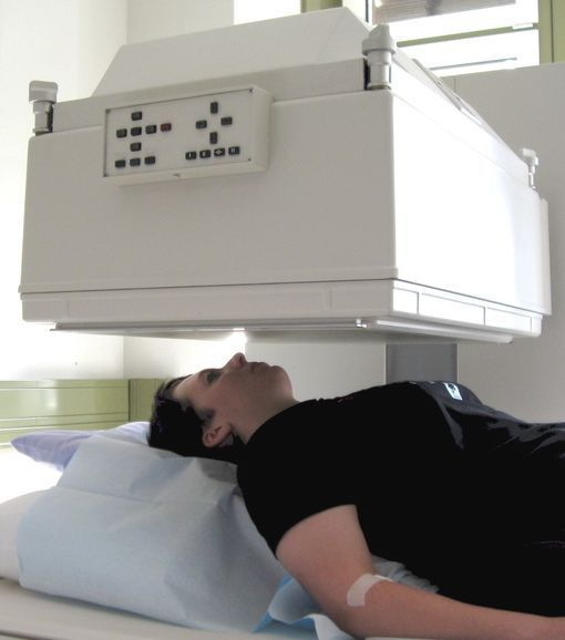 scintigraphie-thyroïdienne-machine