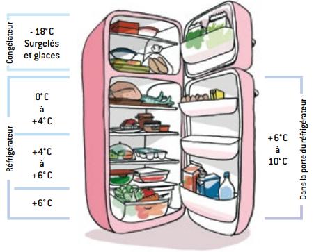 Températeur réfrigérateur - INPES