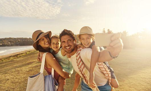 vacances pour la famille