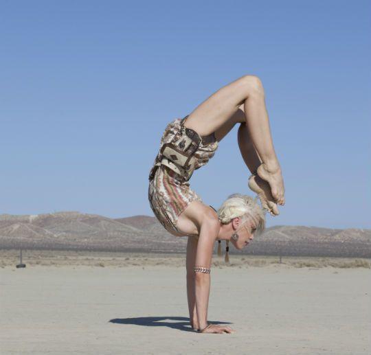 warrior yoga art