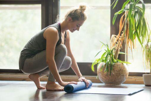 yoga tapis art