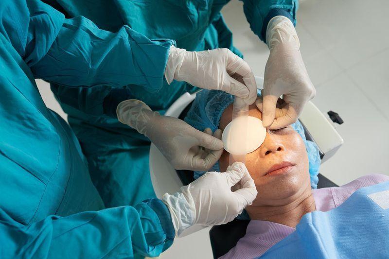 Chirurgie de la presbytie