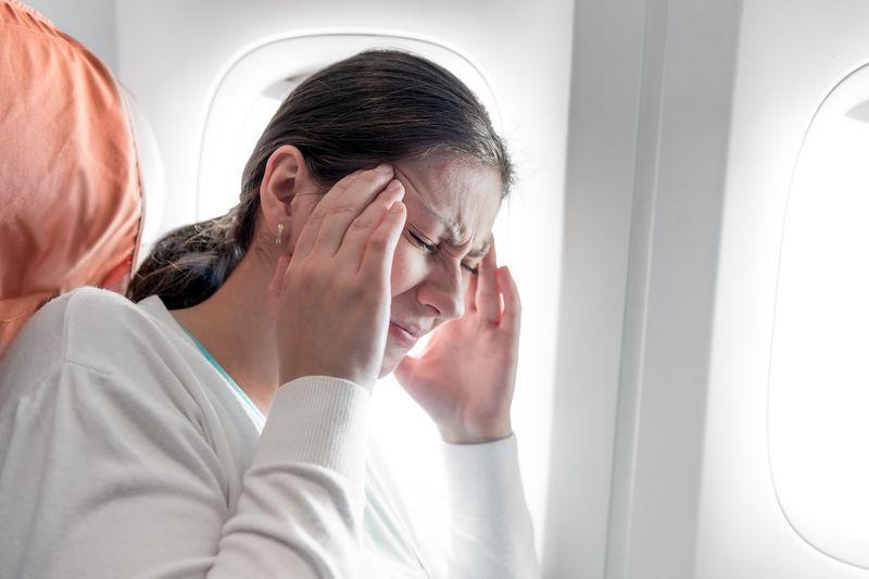 Maux de tête en avion