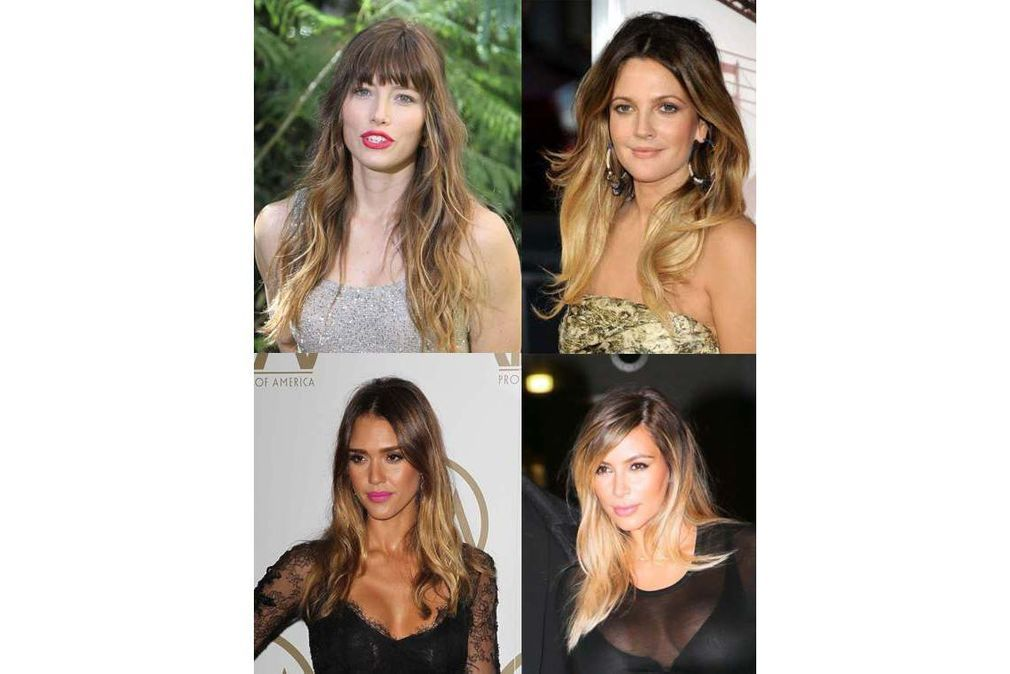 Cheveux tie and dye : on s'inspire des stars !