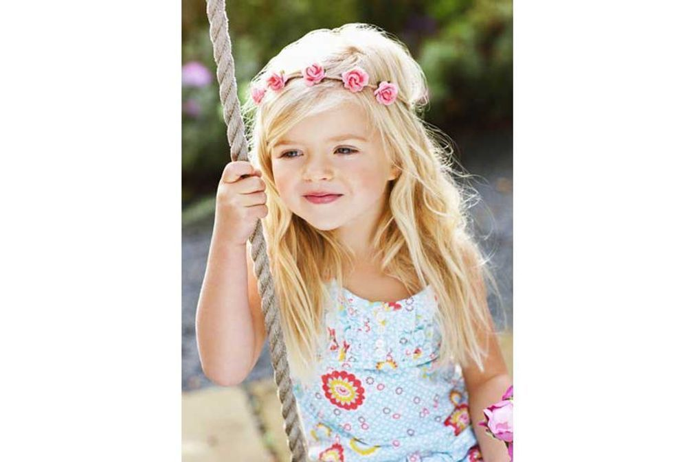 Coiffures pour enfants Г la mode pour les filles
