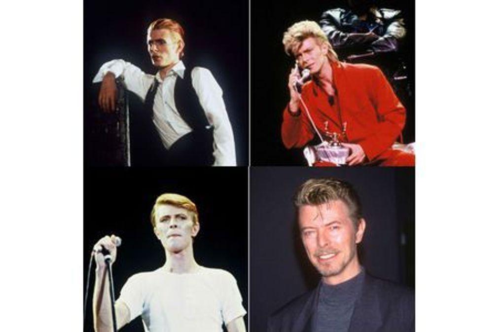 David Bowie en 15 coupes