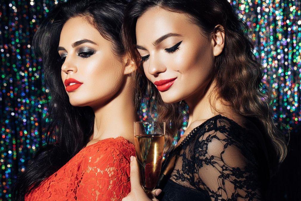 Maquillage Noël , 65 idées de maquillage pour les fêtes de