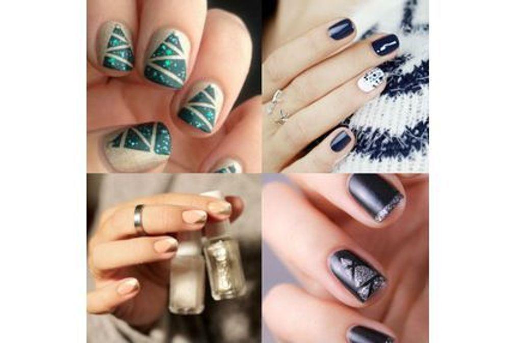 Les 105 plus beaux nail art de Noël