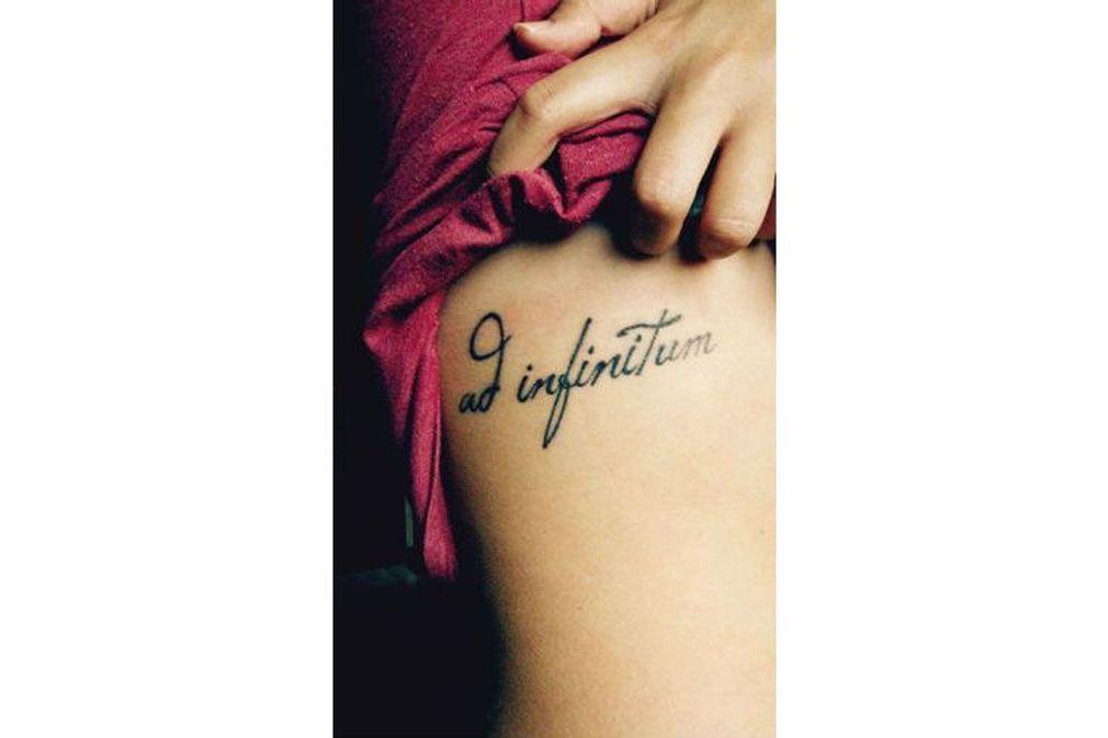 50 tatouages de phrase repérés sur Pinterest