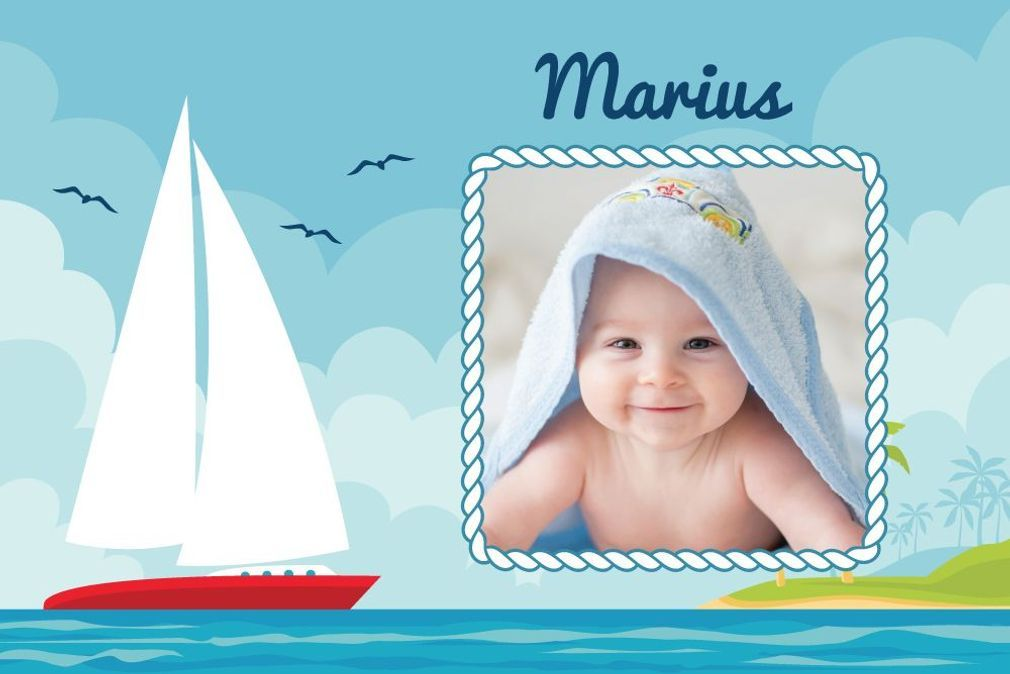 Top 14 des prénoms masculins marins