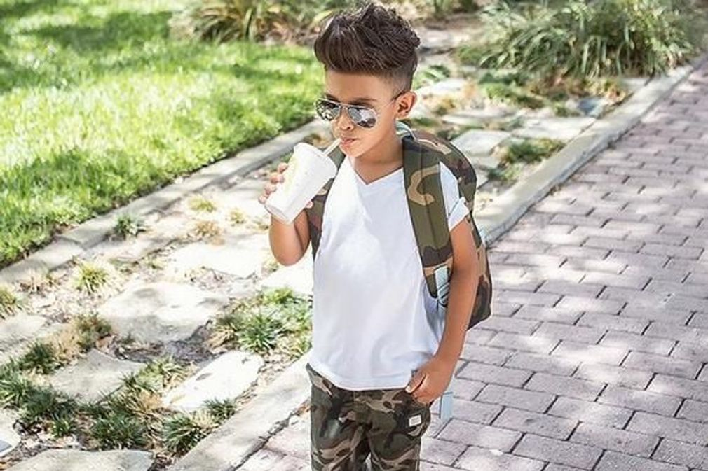Les enfants stars d'Instagram