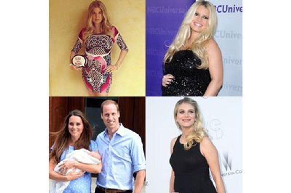 Stars : Les grossesses de l'été 2013