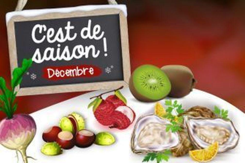 Décembre : fruits, légumes et poissons de saison