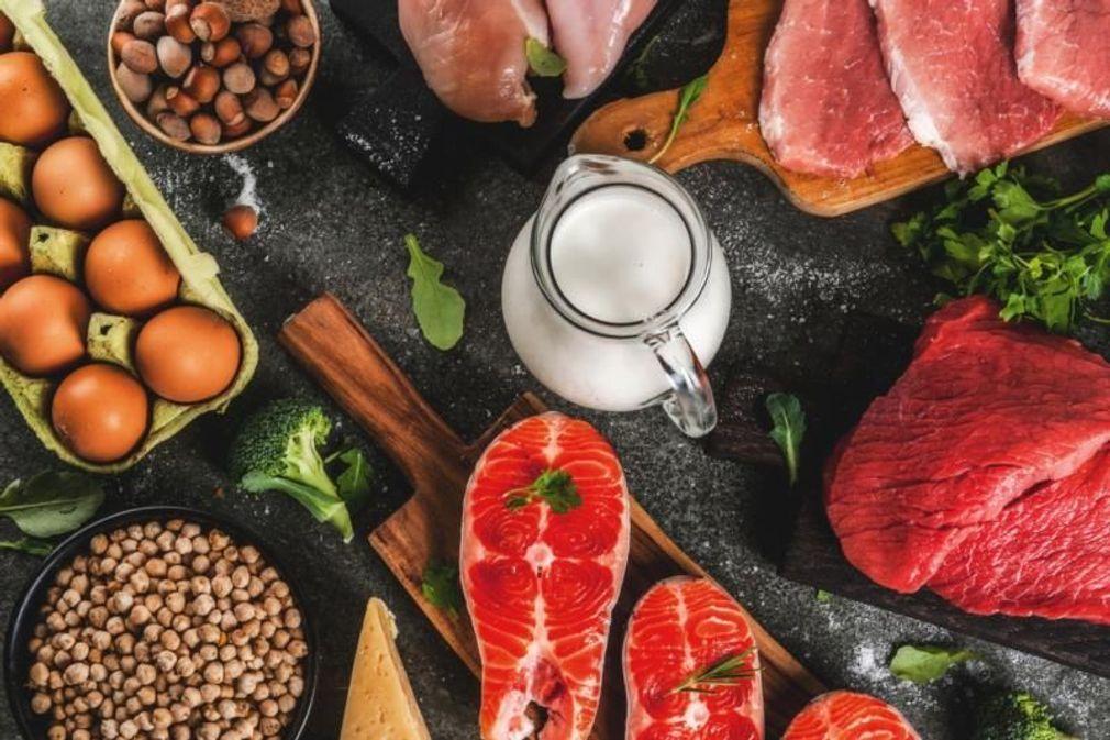 Proteínas: lista de los alimentos más ricos en proteínas (animales y vegetales)