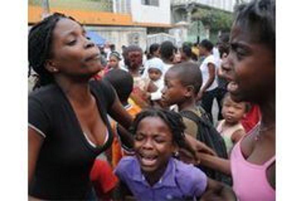 Tragédie à Haïti : les images