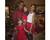 Noël : les portraits de famille des stars