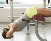 10 exercices avec un banc de musculation