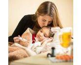 Soigner un enfant qui a la grippe