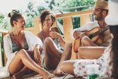 Les vacances entre amis