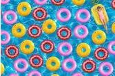 Trouvez le donut parmi les bouées
