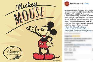 Bésame Cosmetics fête les 90 ans de Mickey Mouse