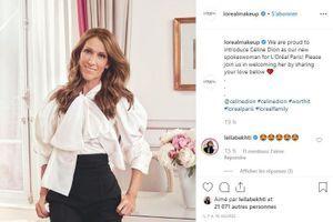 Céline Dion prête désormais sa voix et son image à L'Oréal Paris