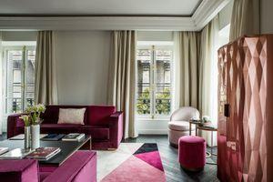 Les cils de Marie s'installent à l'hôtel Fauchon