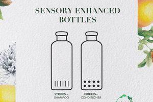 Herbal Essences crée un packaging adapté aux clients malvoyants