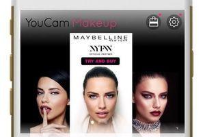 Maybelline lance une application permettant de tester le make-up des défilés new-yorkais