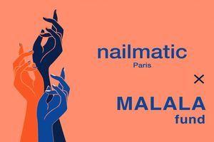 Nailmatic s'associe à Malala Fund pour la journée des droits de la femme