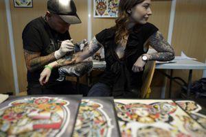Quarante pays représentés au Mondial du tatouage de Paris