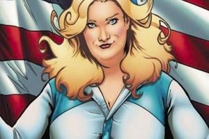 Une super-héroïne avec des formes généreuses débarque au cinéma