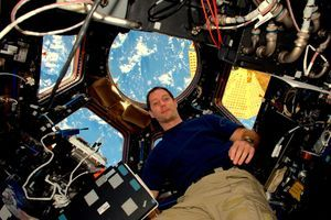 Qui de mieux placé pour parler confinement qu'un astronaute ?
