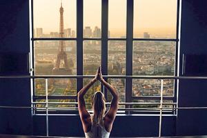 À Paris : bien-être, yoga et méditation à 200m d'altitude