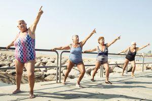 L'exercice physique pour contrer l'obésité chez les femmes âgées