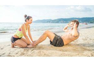 Profitez de la plage pour sculpter vos abdominaux !