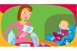 Diarrhée et déshydratation chez les jeunes enfants : l'Inpes conseille les parents