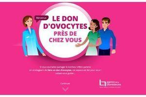 Don d'ovocytes : un dispositif en ligne pour accompagner les donneuses potentielles