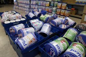 Lactalis : 210 boîtes de lait potentiellement contaminé ont été volées
