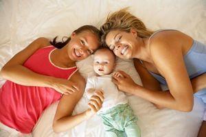 noir lesbienne l'allaitement maternel