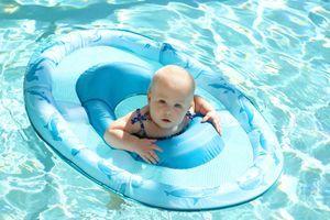 Rappel d'une bouée pour bébé Decathlon