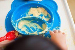 Rappel d'un coffret vaisselle de la marque Babymoov