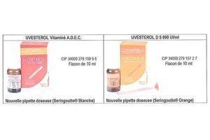 Uvestérol (vitamine D pour les bébés) change de formulation pour réduire le risque de malaises